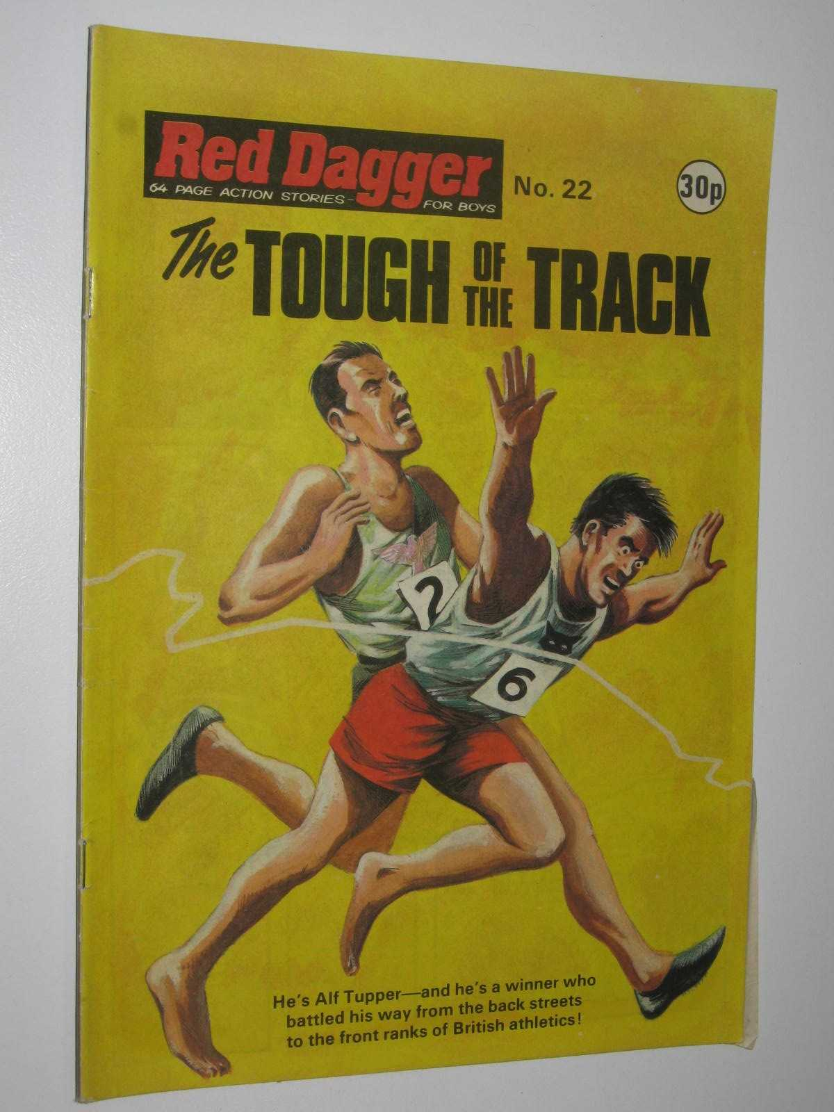 Image for Red Dagger No. 22: The Tough of the Track : 64 Page Action Stories for Boys
