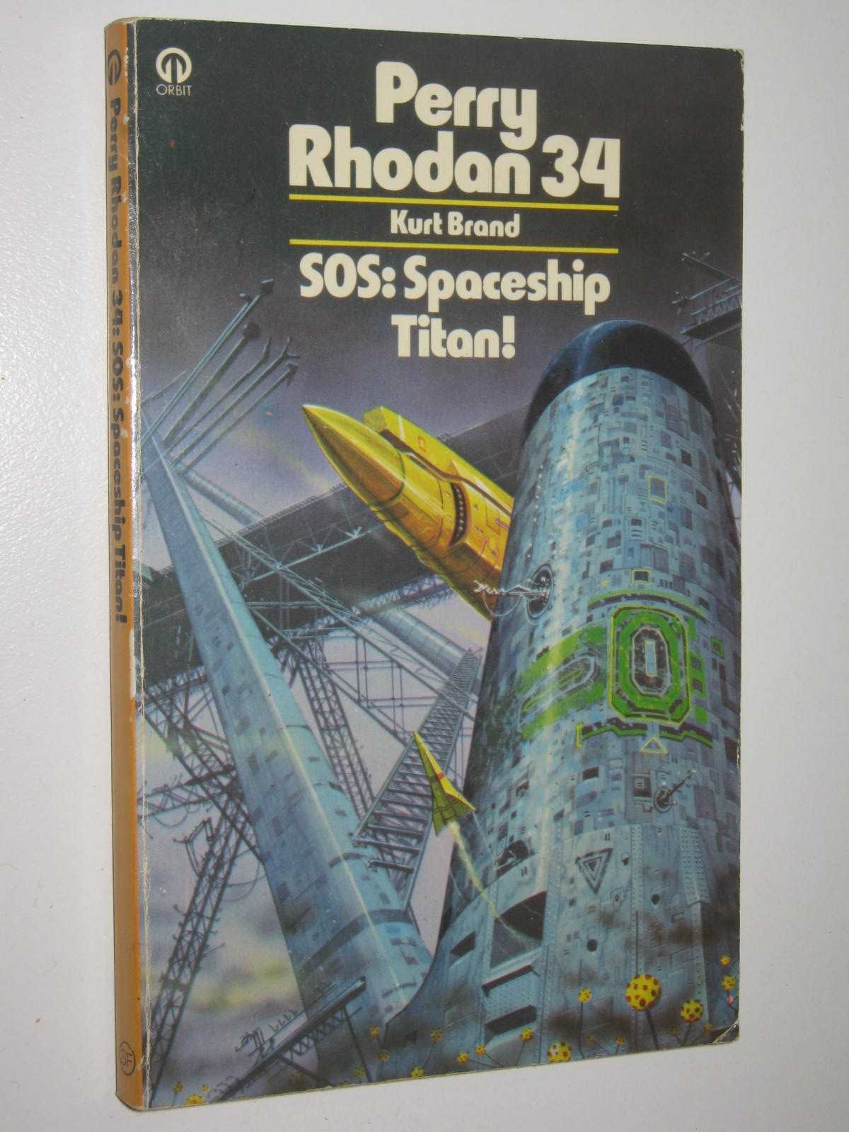 Image for SOS: Spaceship Titan! - Perry Rhodan Series #34
