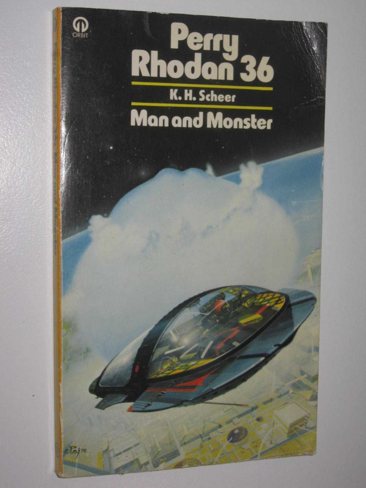 Image for Man and Monster - Perry Rhodan Series #36