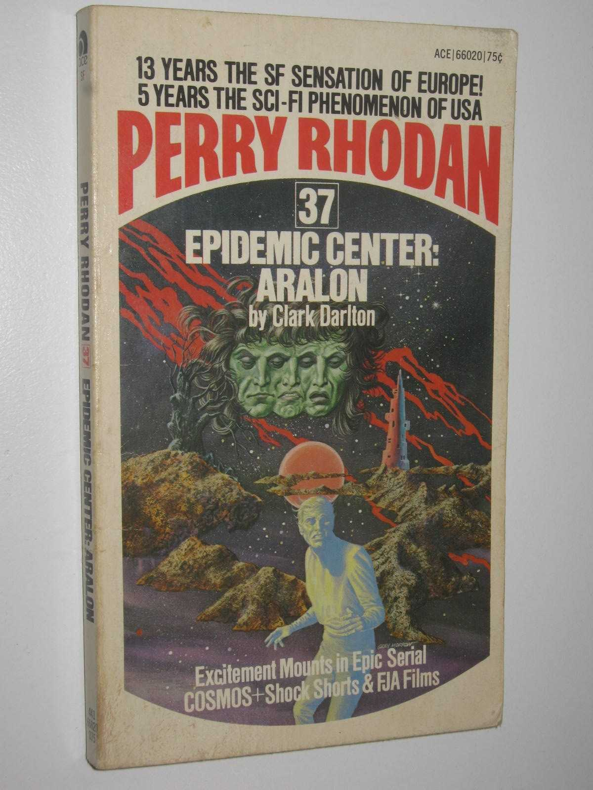 Image for Epidemic Center: Aralon - Perry Rhodan Series #37