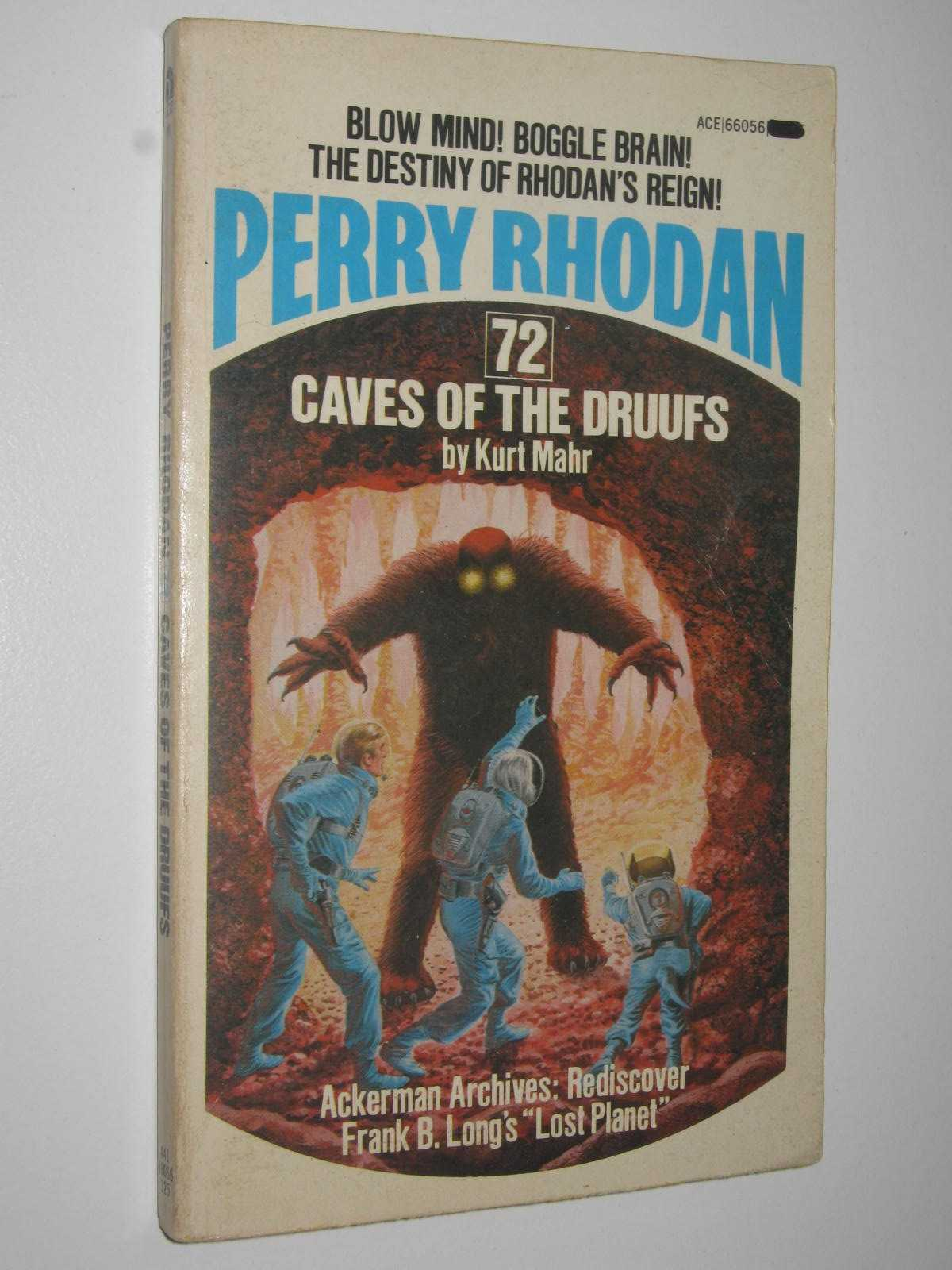Image for Caves of the Druufs - Perry Rhodan Series #72