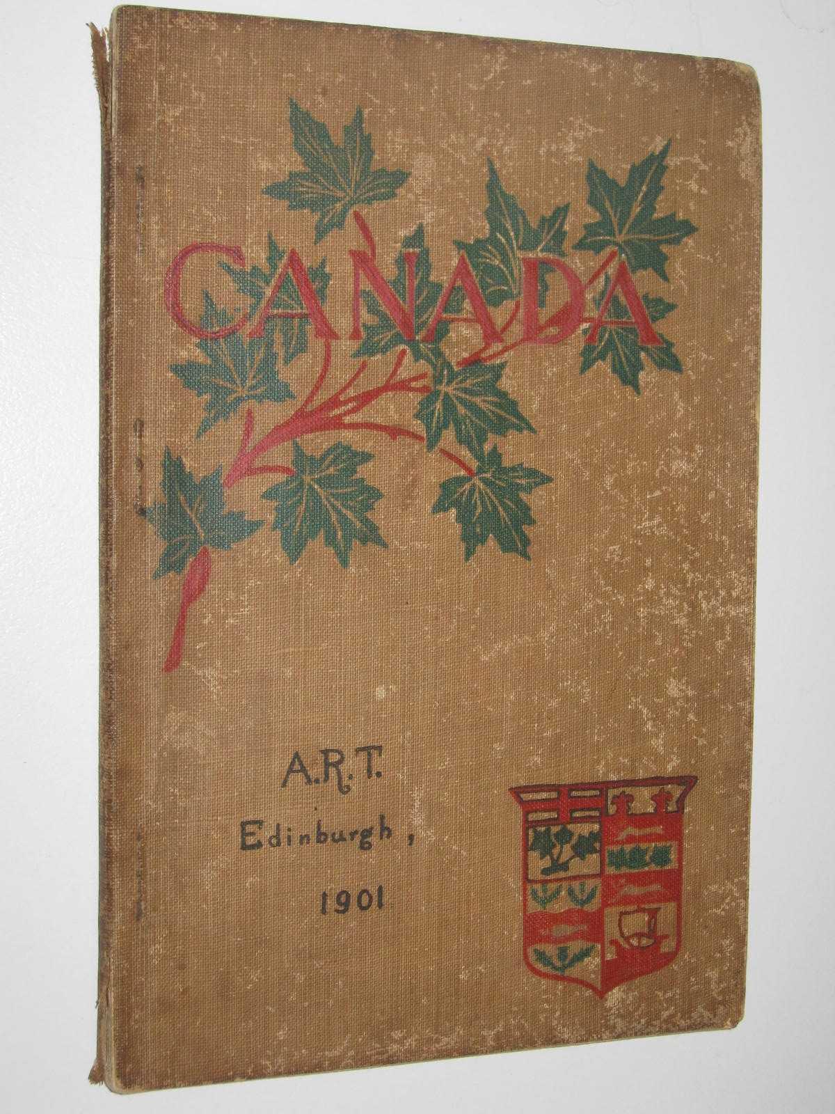 Image for Canada : A Descriptive Text Book