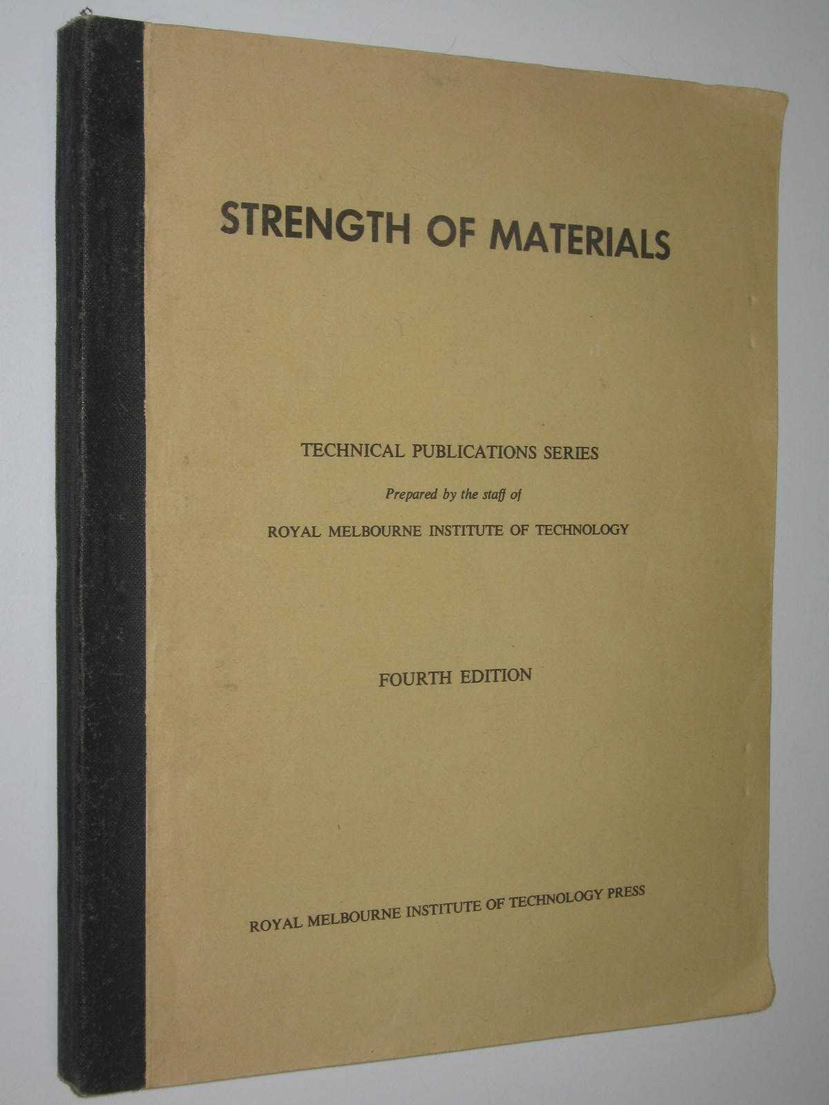 Image for Strength Of Materials