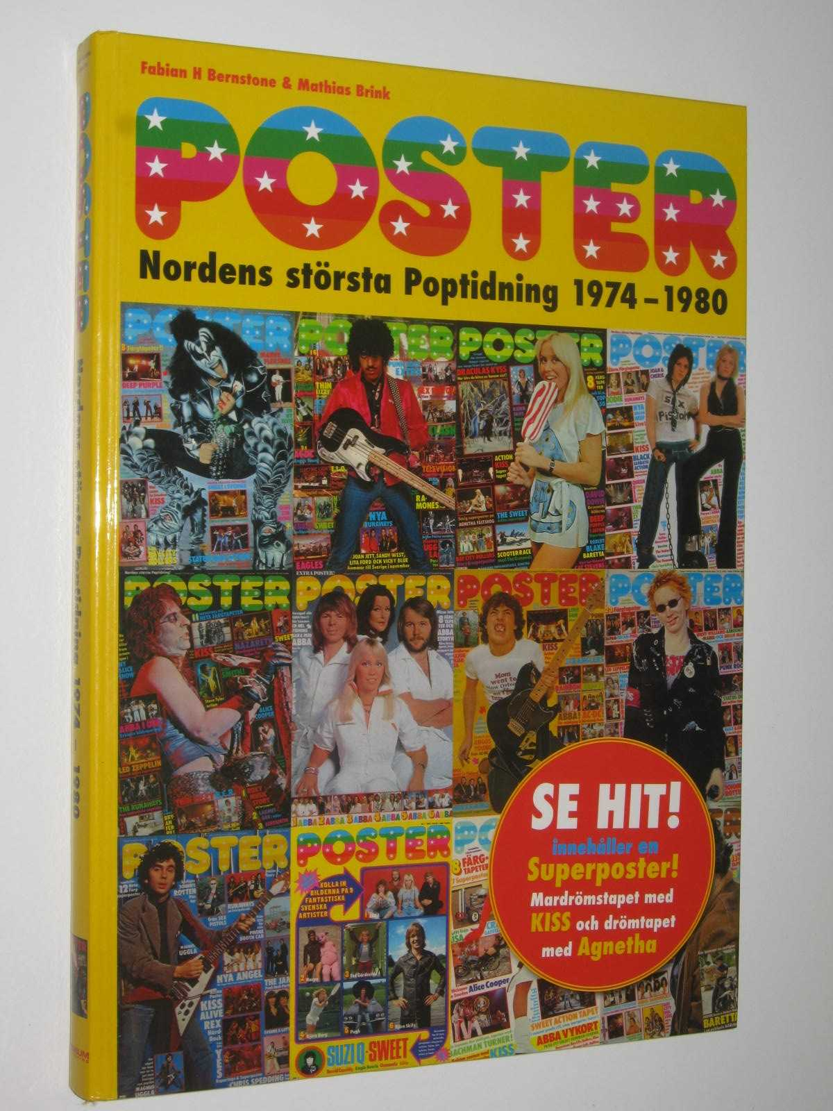 Image for Poster: Nordens Storsta Poptidning 1974-1980 : (Poster: the Nordic Region's Largest Pop Magazine)