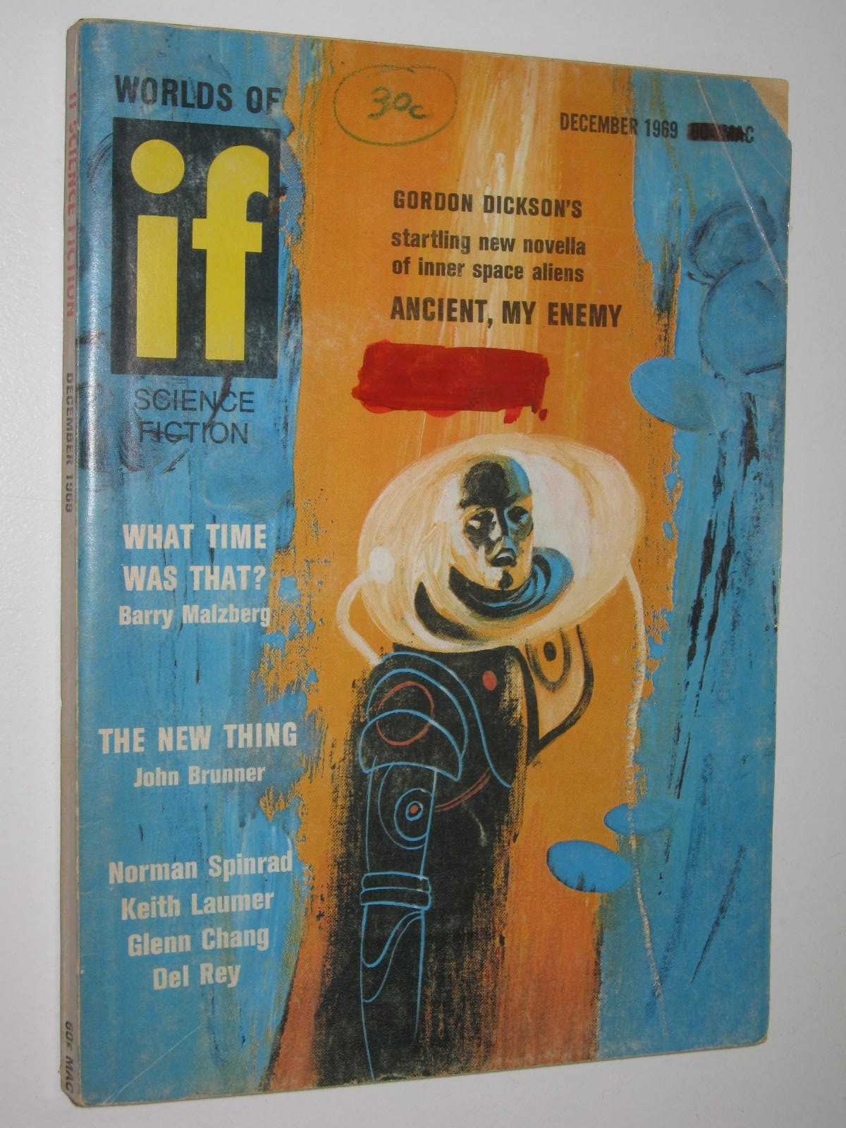 Image for IF: Worlds of Science Fiction December 1969 : Vol. 19, No. 10