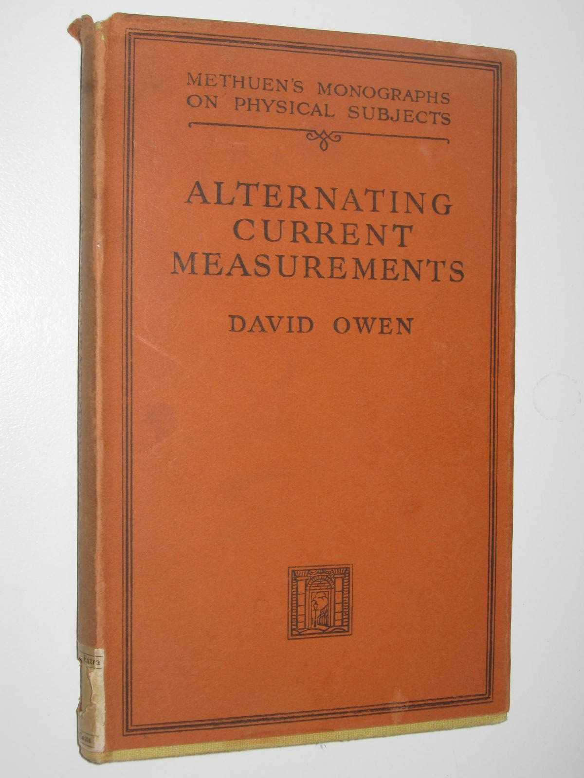 Image for Alternating Current Measurements at Audio and Radio Frequencies