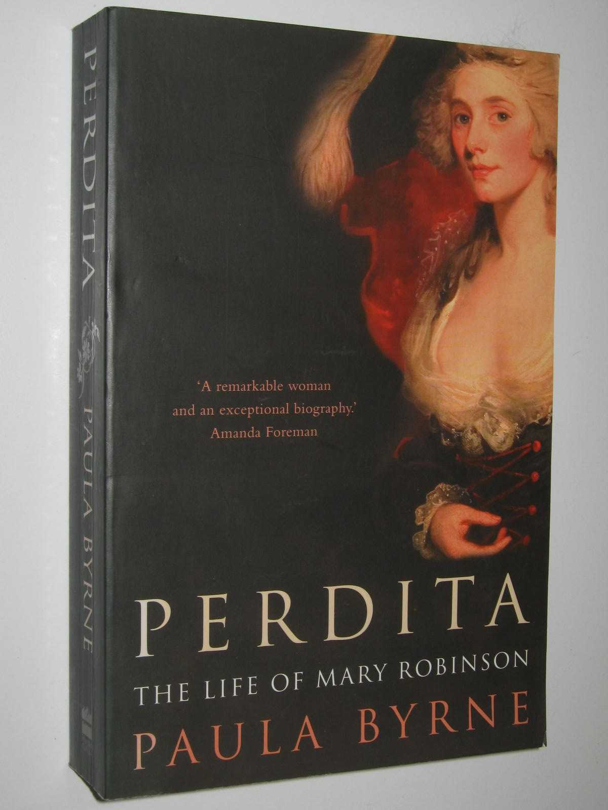 Image for Perdita : The Life of Mary Robinson