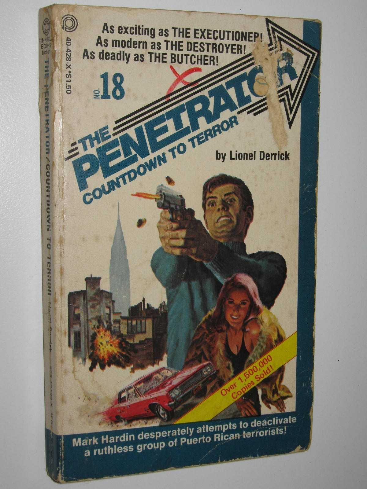 Image for Countdown to Terror - The Penetrator Series #18