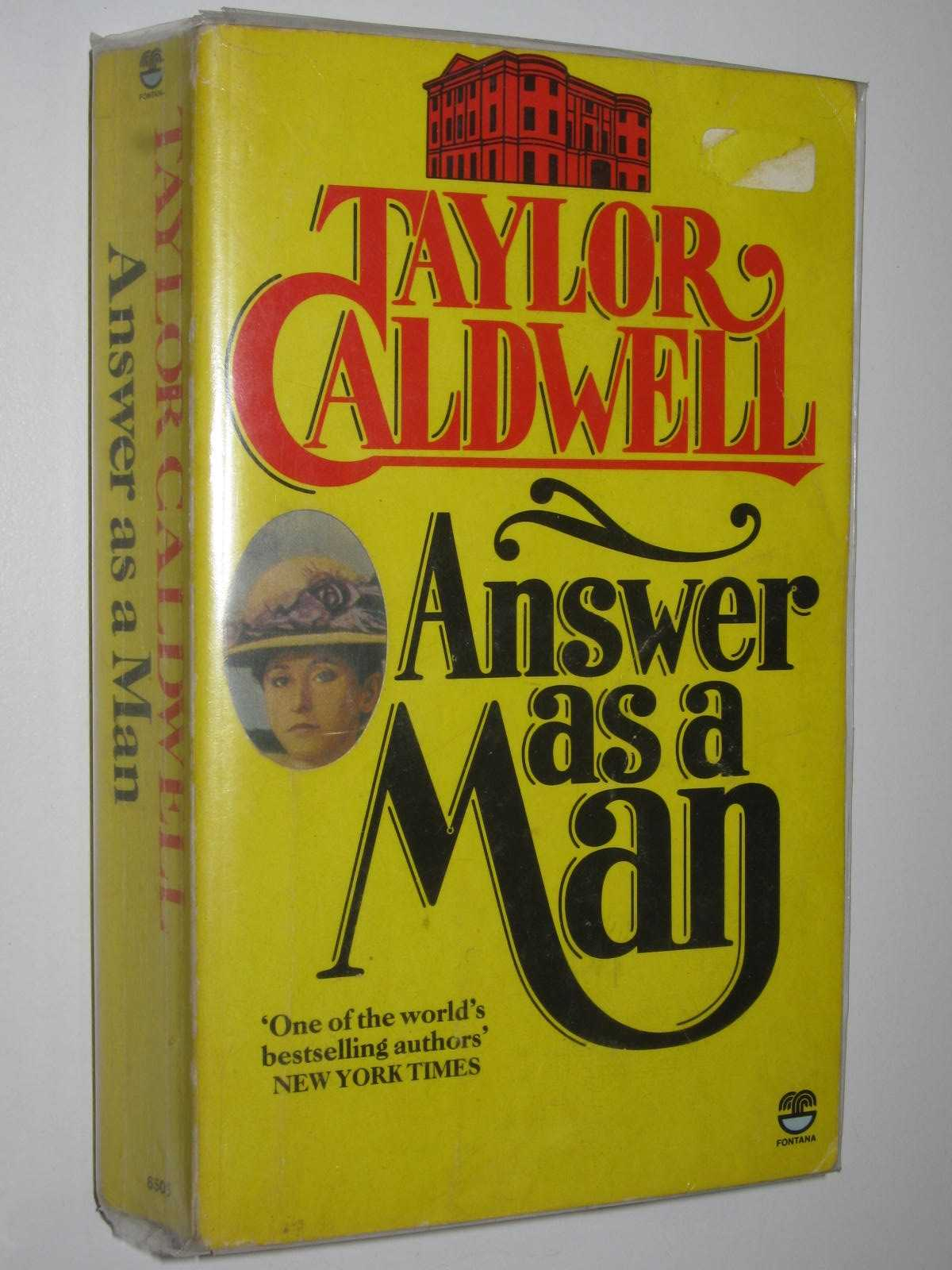 Image for Answer as a Man