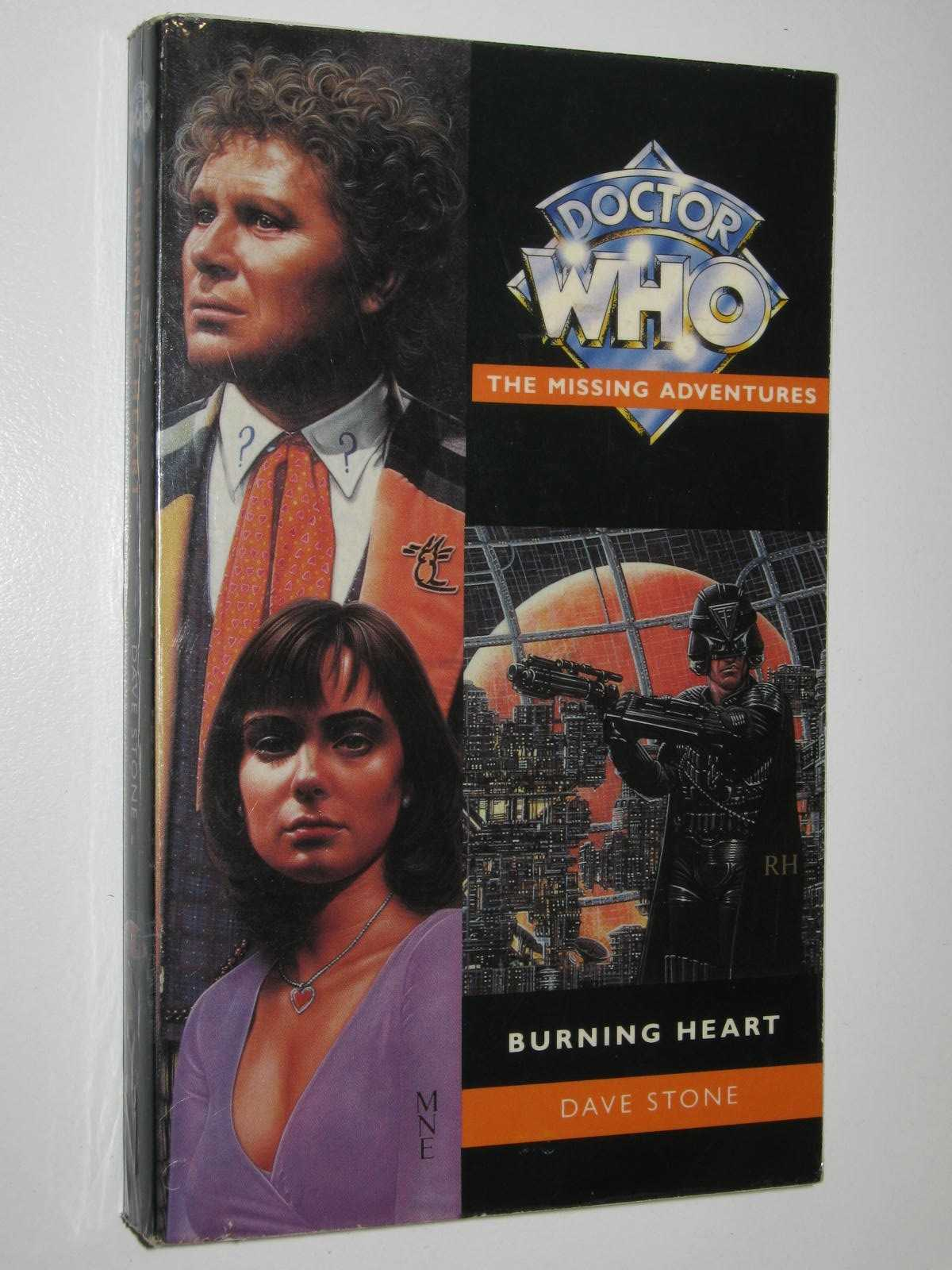 Image for Burning Heart - Doctor Who: The Missing Adventures Series #30