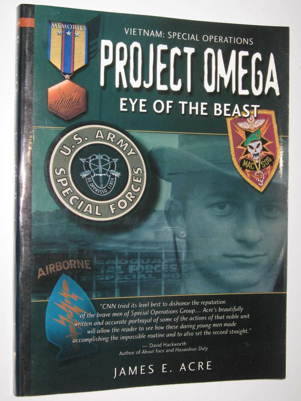 Image for Project Omega: Eye of the Beast - Hellgate Memories Series