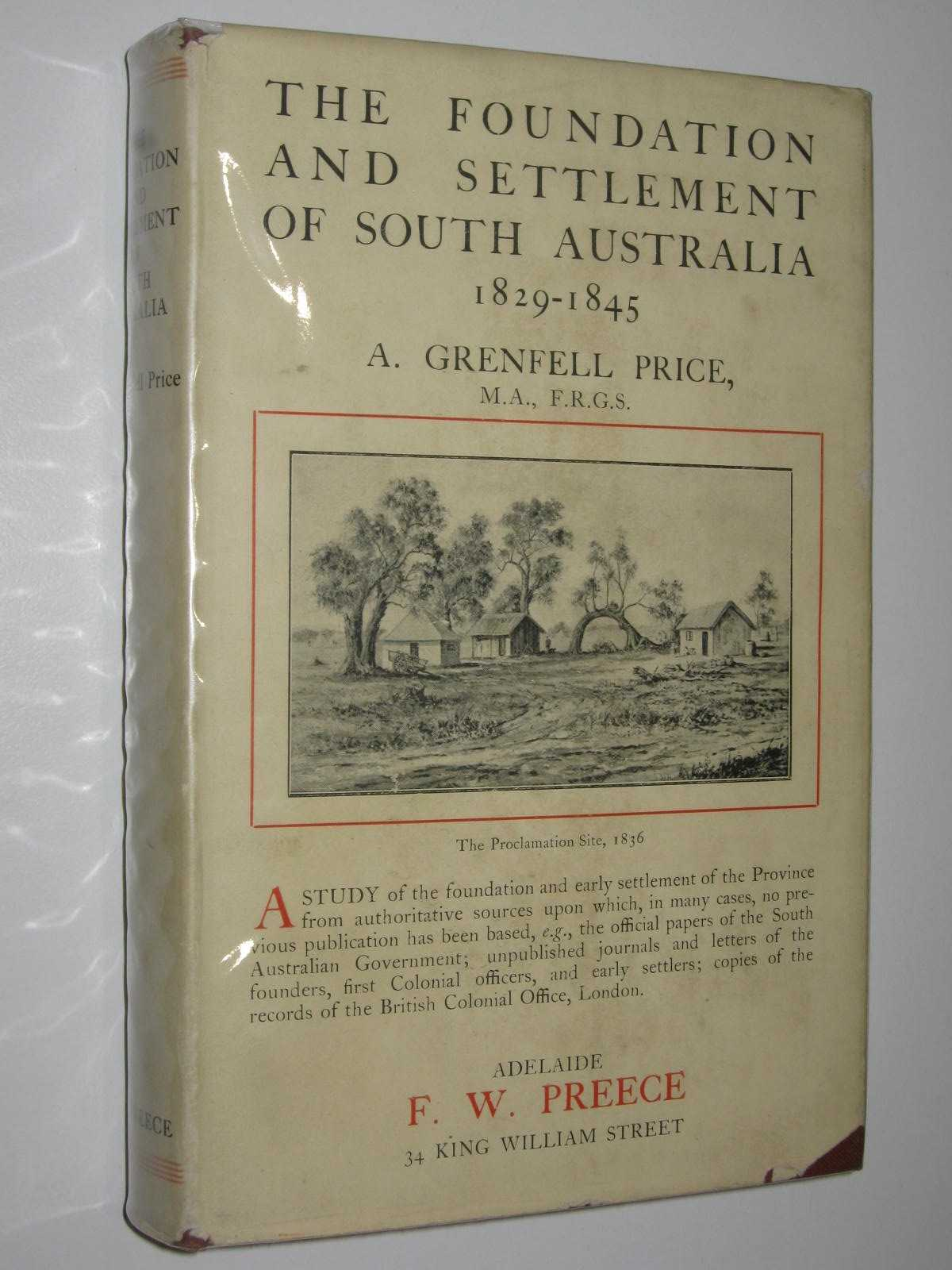 Image for The Foundation and Settlement of South Australia 1829-1845