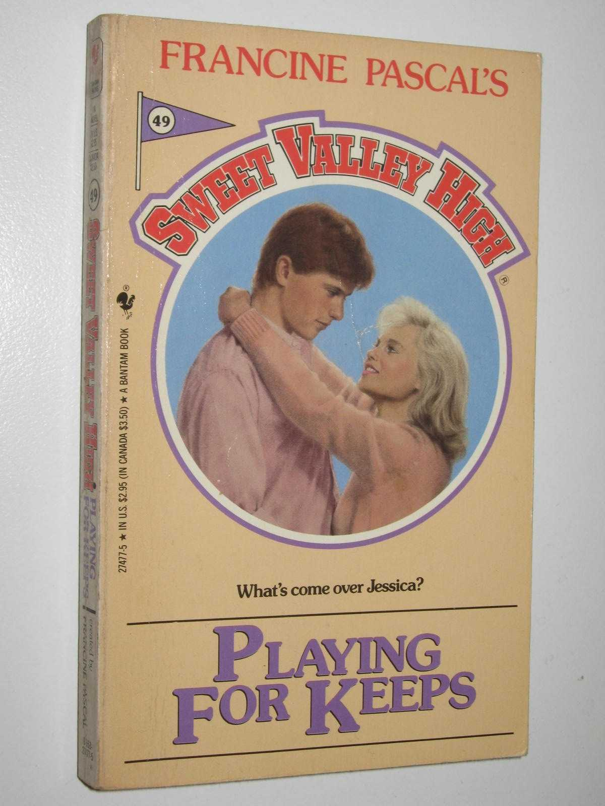 Image for Playing for Keeps - Sweet Valley High Series #49
