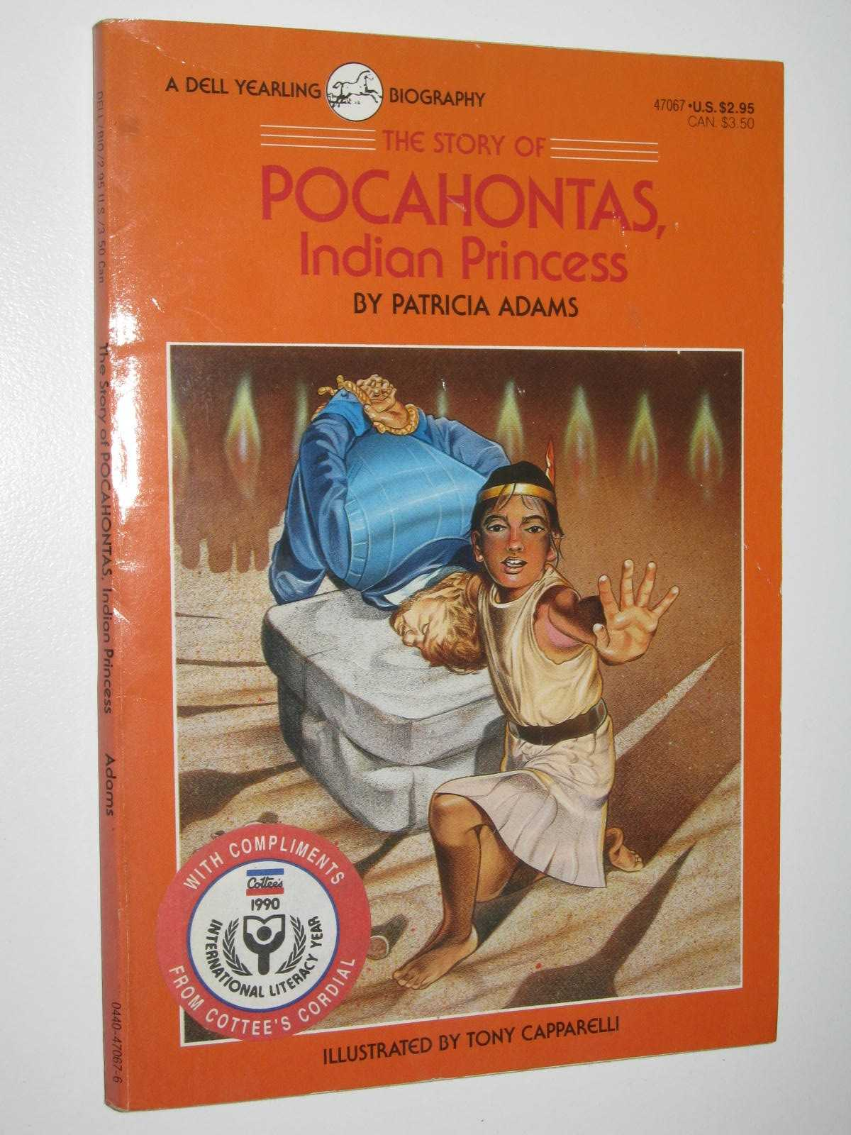Image for The Story Of Pocahontas, Indian Princess
