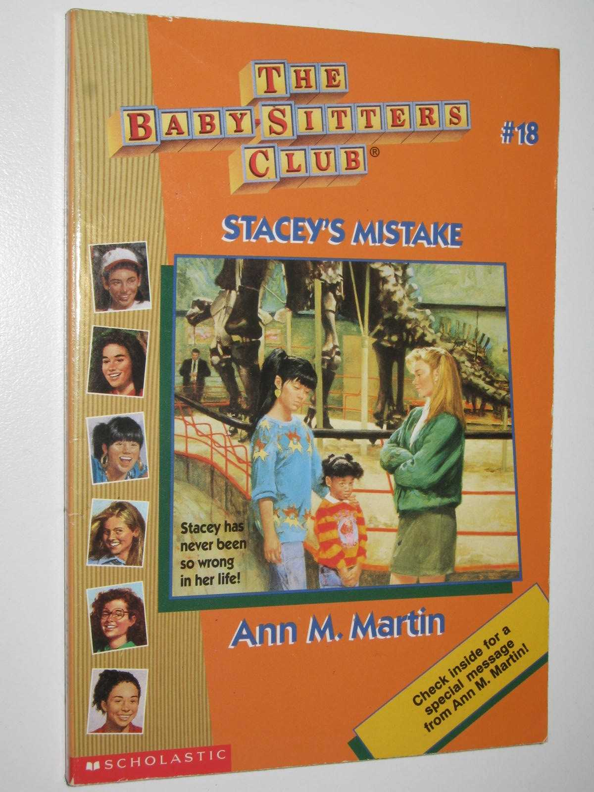 Image for Stacey's Mistake - Baby-Sitters Club Series #18