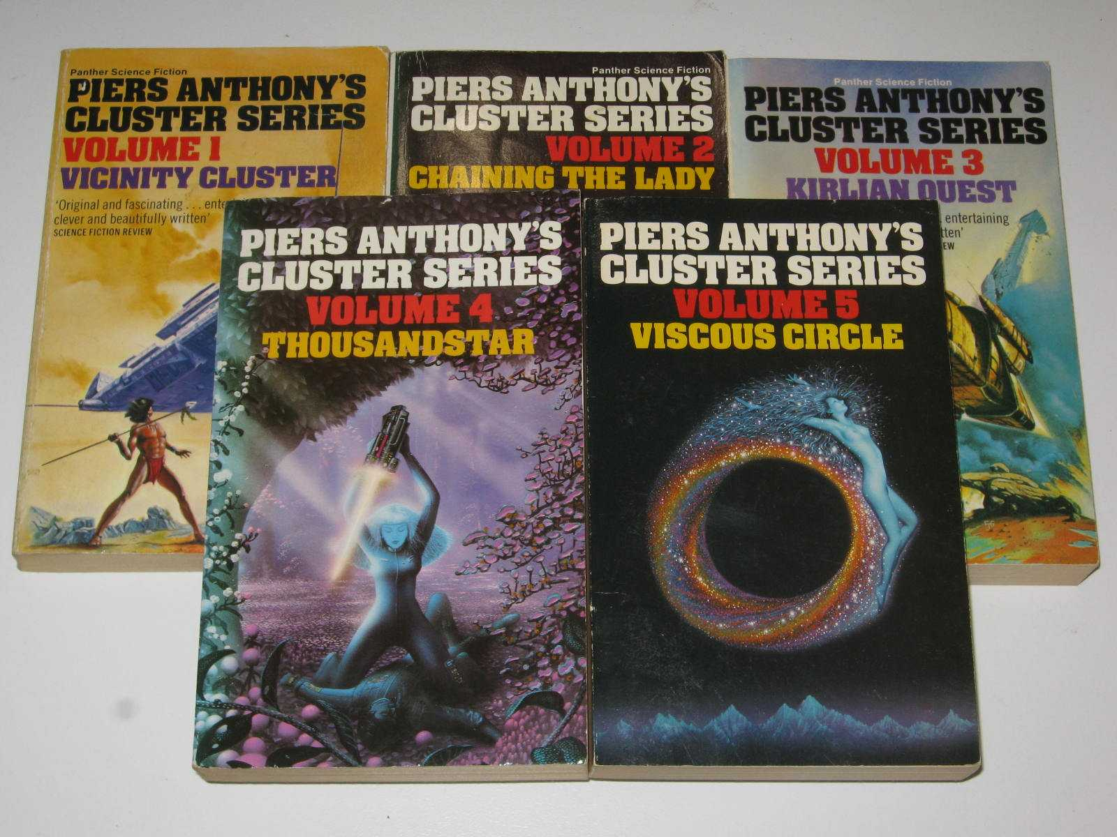 Image for Cluster Complete Series [5 books] - Cluster Series #1-5