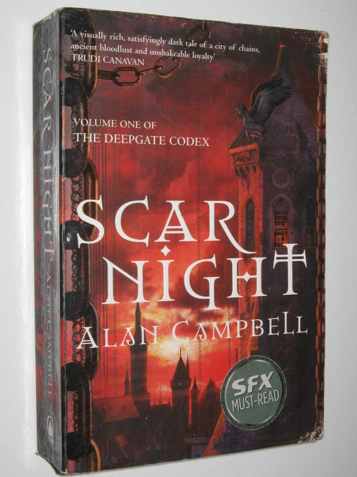 Image for Scar Night - The Deepgate Codex Volume #1
