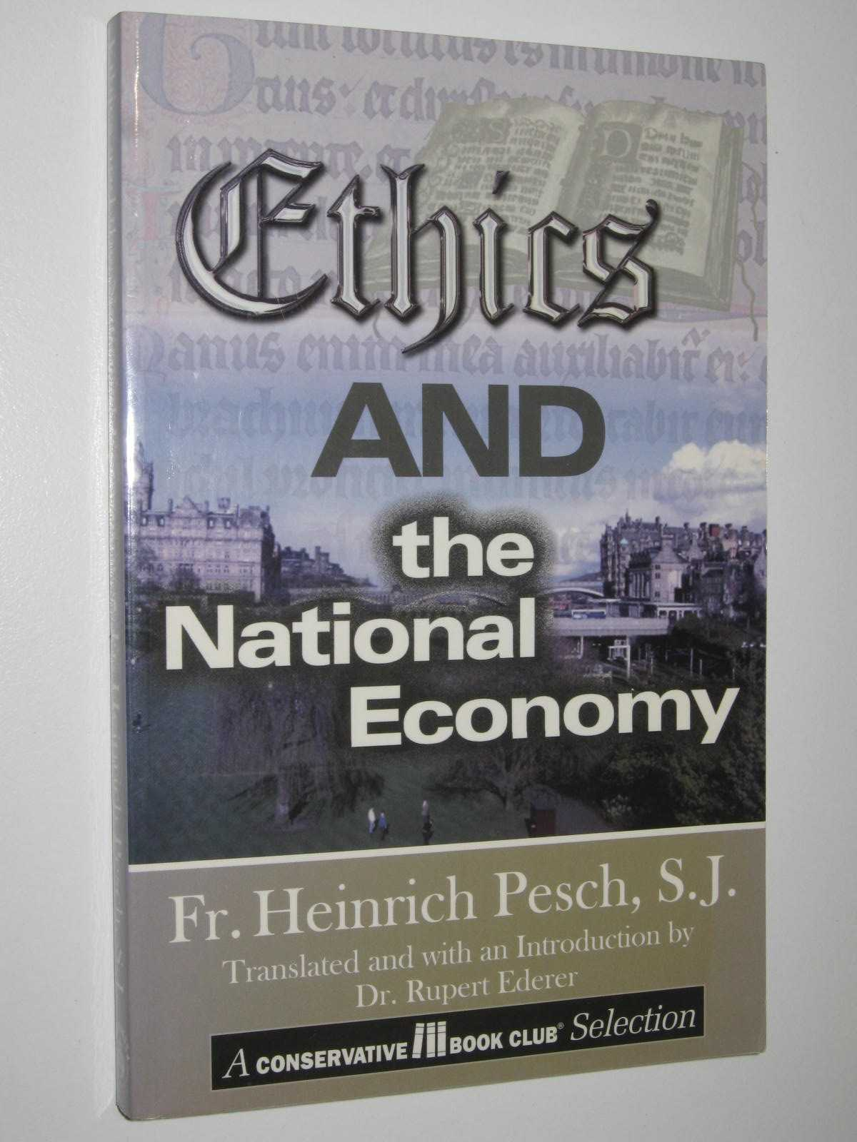 Image for Ethics and the National Economy