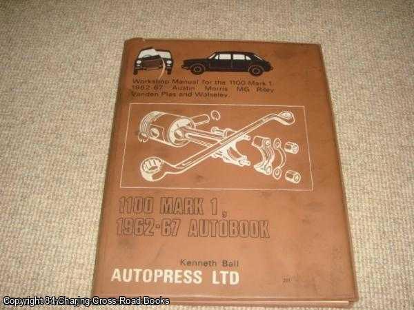 BALL, KENNETH - 1100, Mk.1 1962-67 Autobook