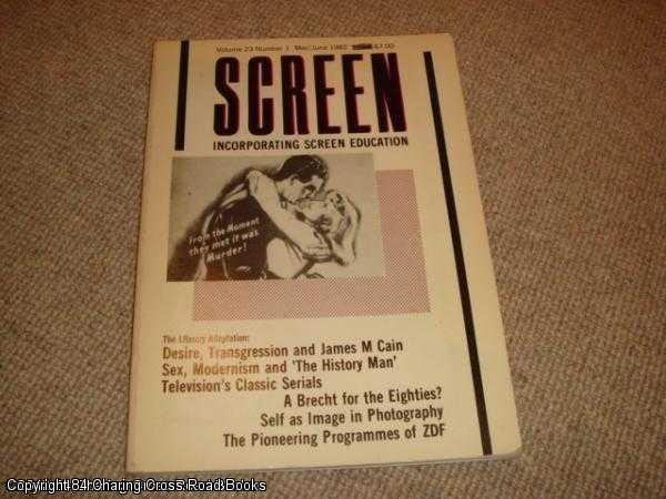 CAUGHIE, JOHN ET AL - Screen Volume 23, No. 1 - May - June 1982