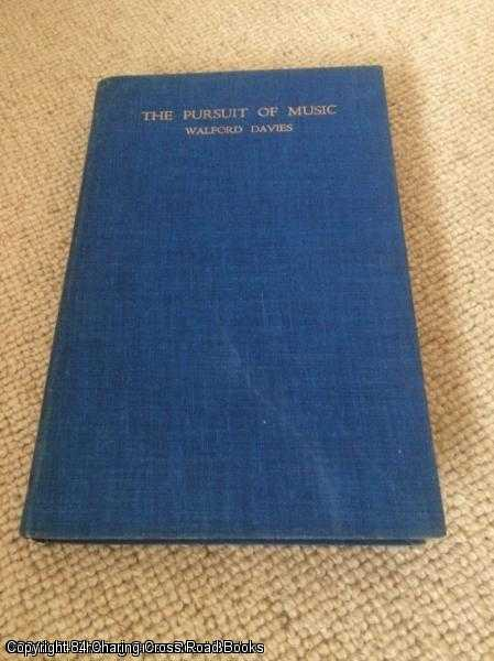 DAVIES, WALFORD - The Pursuit of Music