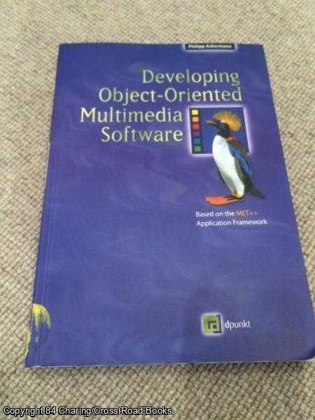 ACKERMANN, PHILIPP - Developing Object-Oriented Multimedia Software
