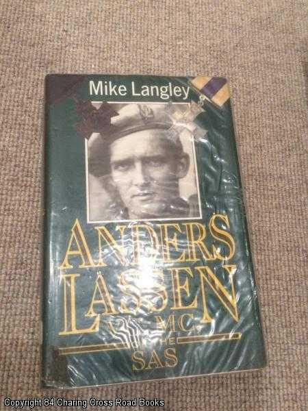 LANGLEY, MIKE - Anders Lassen, V.C., M.C., of the S.A.S.