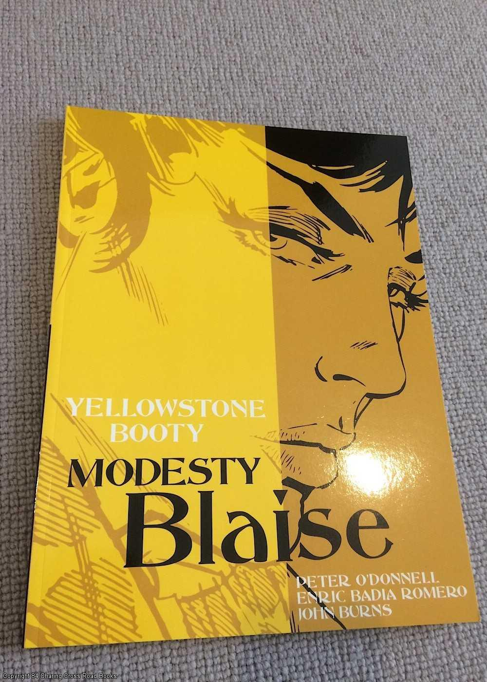 PETER O'DONNELL; JOHN BURNS - Modesty Blaise: Yellowstone Booty
