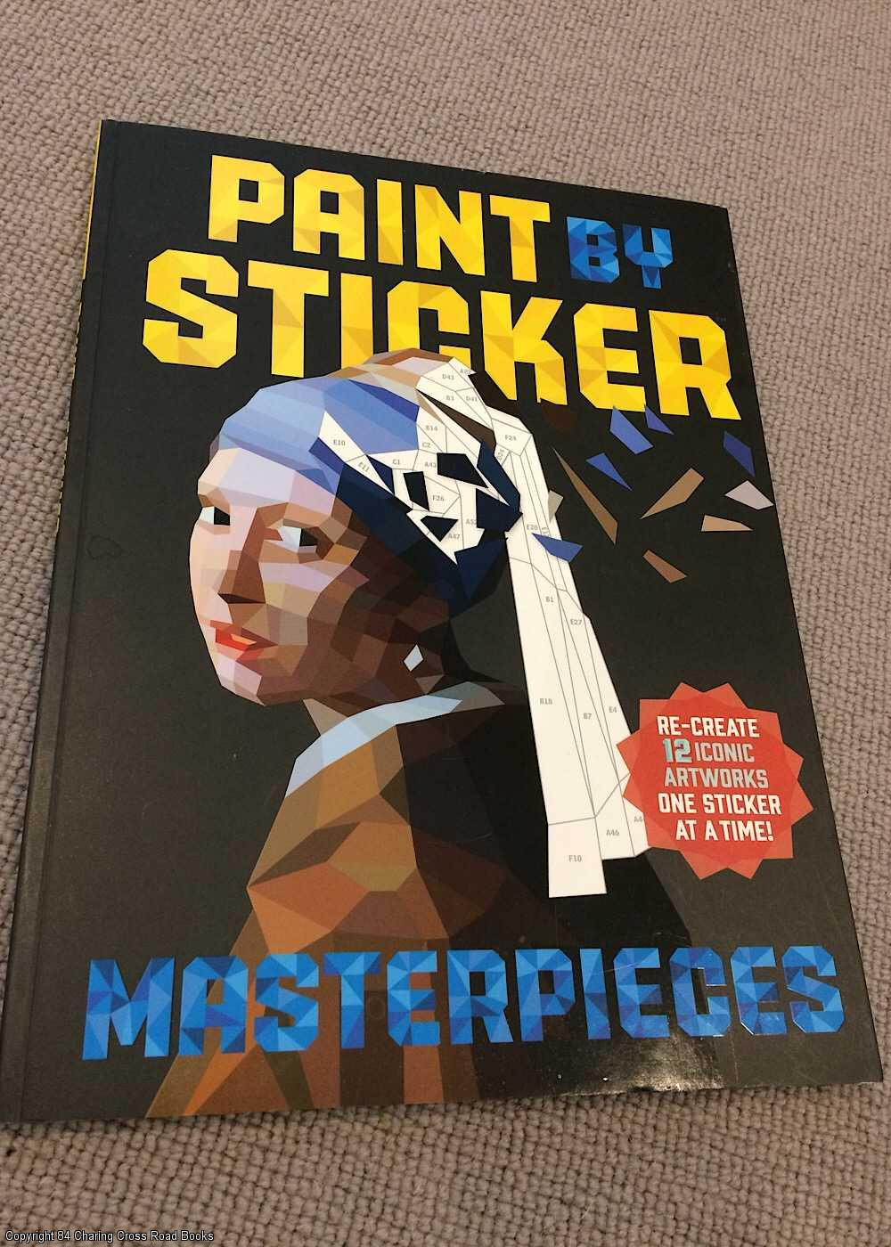 - Paint by Sticker Masterpieces
