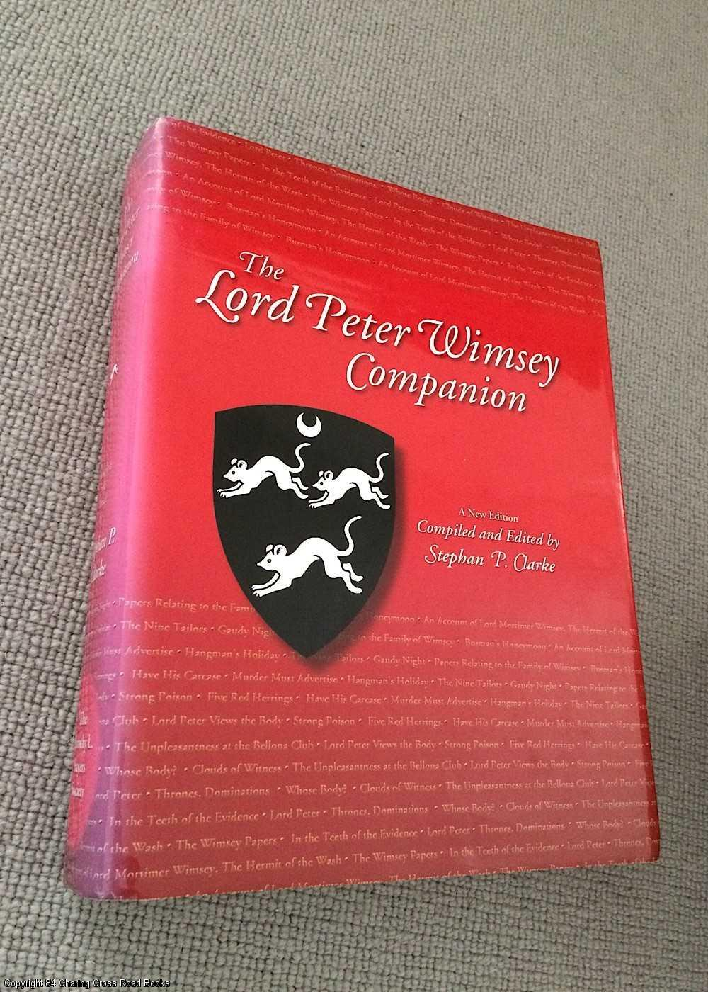 CLARKE, STEPHEN P. - The Lord Peter Wimsey Companion