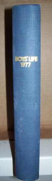 Boys' Life Bound Volume of 12 Issues 1977, N/A