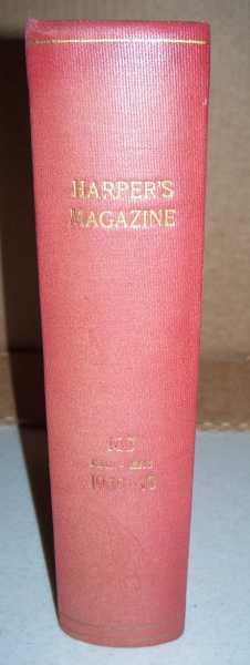 Harper's Magazine Volume 180, December 1939-May 1940 Bound in One Volume, Various