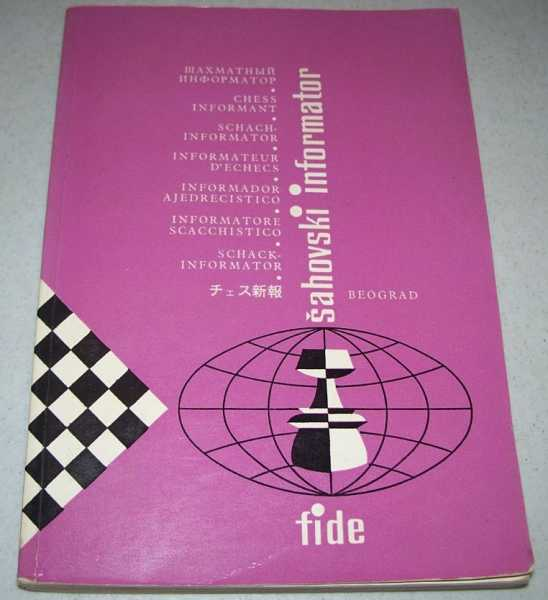 Chess Informant No. 35, Various