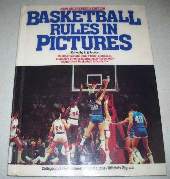 Basketball Rules in Pictures, Jacobs, A.G. (ed.)