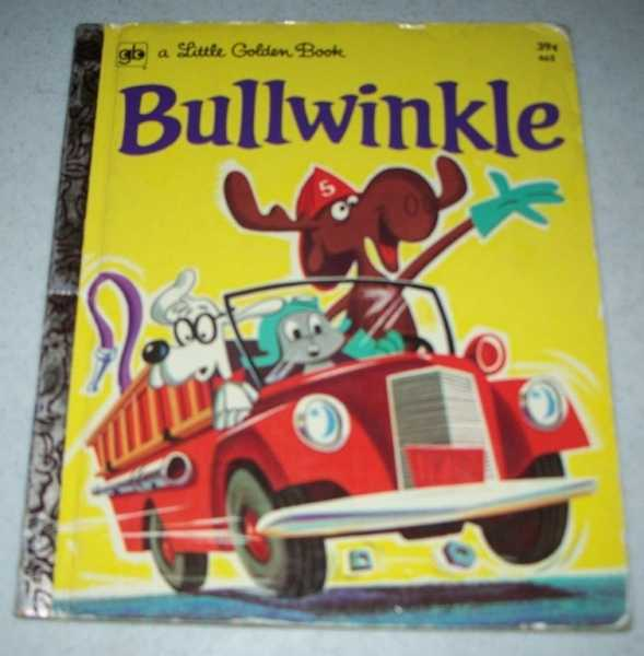 Bullwinkle (Little Golden Book), Corwyn, David