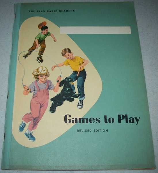 Games to Play, Revised Edition: Activities for Reading Readiness, Haynes, Grace B. and Russell, David H.