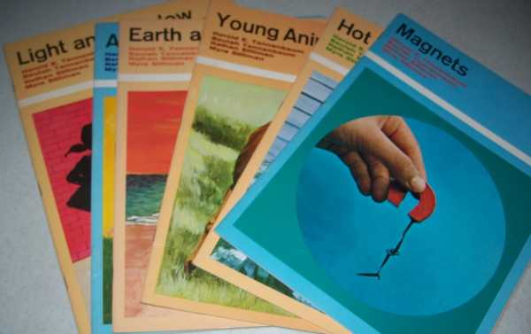 Experiences in Science Recortext Set of 6 Books: Magnets; Hot and Cold; Young Animals; Earth and Sun; Air; Light and Shadow, Tannenbaum, Harold E.; Tannenbaum, Beulah; Stillman, Nathan; Stillman, Myra