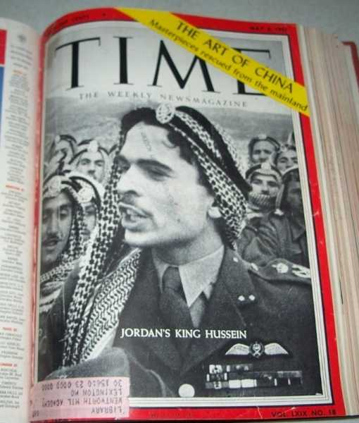 Time: The Weekly News Magazine Volume 69, April through June 1957 Bound in One Volume, N/A