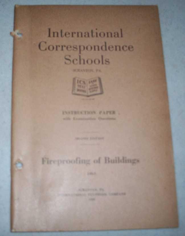 Fireproofing of Buildings (International Correspondence Schools ICS 1061), N/A