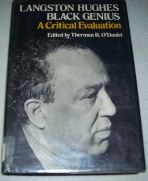 Langston Hughes, Black Genius: A Critical Evaluation, O'Daniel, Therman B.