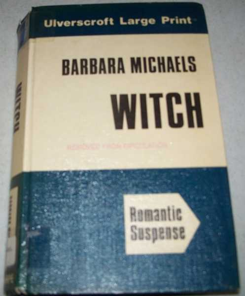 Witch (Large Print Edition), Michaels, Barbara