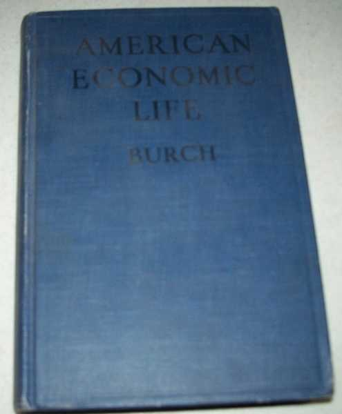 American Economic Life, Burch, Henry Reed