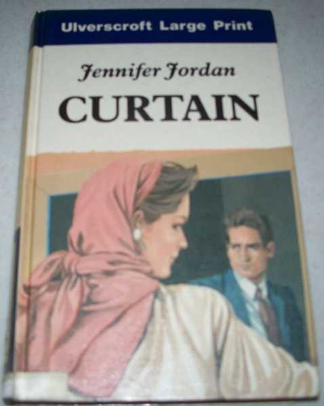 Curtain (Large Print Edition), Jordan, Jennifer