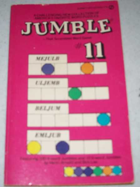 Jumble: That Scrambled Word Game #11, Arnold, Henri and Lee, Bob