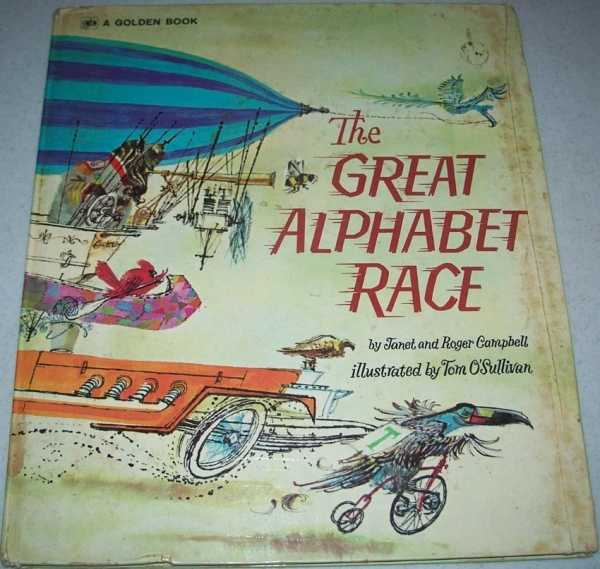 The Great Alphabet Race, Campbell, Janet and Roger