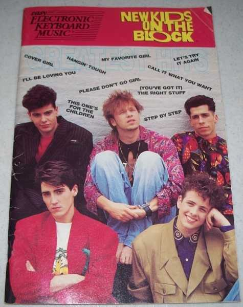 New Kids on the Block Great Hits: Easy Electronic Keyboard Music, N/A