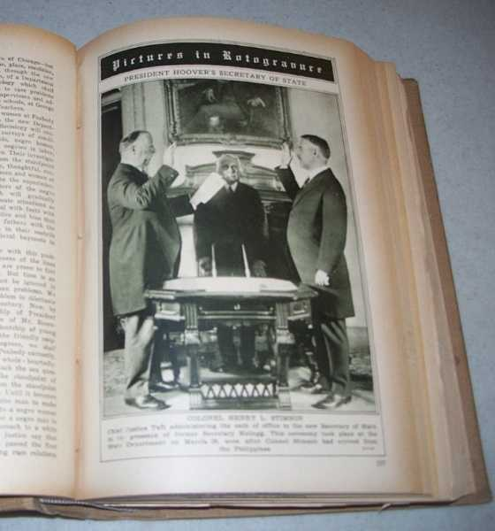 Current History Magazine Volume 29, Bound Volume, April 1929-September 1929, N/A