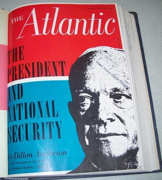 The Atlantic (Monthly Magazine) Volume 197, January-June 1956 Bound in One Volume, N/A
