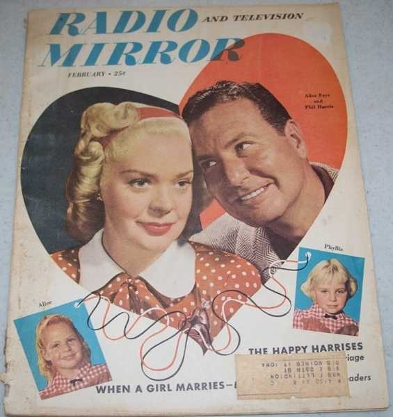 Radio and Television Mirror Magazine February 1949, N/A