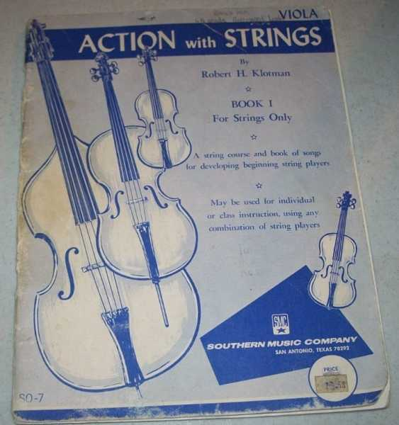 Action with Strings Book I: For Strings Only (Viola), Klotman, Robert H.